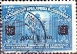 Sellos del Mundo : Europa : Yugoslavia : Intercambio crxf 0,20 usd  1 d. sobre 25 p. 1922