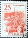 Sellos del Mundo : Europa : Yugoslavia : Intercambio 0,20 usd  25 d. 1961