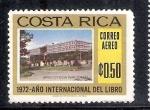 Stamps Costa Rica -  Año Internacional del Libro y la Lectura