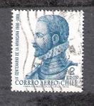 Sellos del Mundo : America : Chile : IV Centenario de La Araucana, 1569-1969