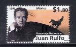 Sellos de America - México -  Homenaje  Nacional a Juan Rulfo