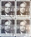 Sellos de America - Estados Unidos -  Intercambio 0,80 usd  4 x 14 cent. 1972
