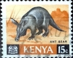 Sellos de Africa - Kenya -  Intercambio 0,20 usd  15 cent. 1966