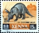 Stamps : Africa : Kenya :  Intercambio 0,20 usd  15 cent. 1966