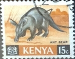 Sellos del Mundo : Africa : Kenya : Intercambio 0,20 usd  15 cent. 1966