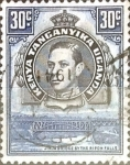 Stamps : Europe : United_Kingdom :  Intercambio 0,35 usd  30 cent. 1942