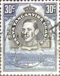 Sellos del Mundo : Europa : Reino_Unido : Intercambio 0,35 usd  30 cent. 1942