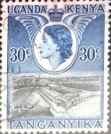 Stamps : Europe : United_Kingdom :  Intercambio 0,20 usd  30 cent. 1954