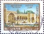 Stamps : Asia : Lebanon :  Intercambio crxf 0,20 usd  50 p.1966