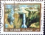 Stamps : Asia : Lebanon :  Intercambio crxf 0,20 usd  10 p.1966