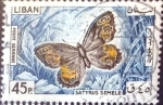 Stamps : Asia : Lebanon :  Intercambio 0,20 usd  45 p. 1965