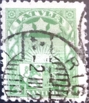 Sellos del Mundo : Europa : Letonia : Intercambio 0,40 usd  5 s. 1925
