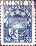 Sellos del Mundo : Europa : Letonia : Intercambio 0,20 usd  20 s. 1923