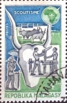 Stamps : Africa : Madagascar :  Intercambio 0,20 usd  4 fr. 1974