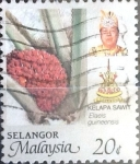 Stamps : Asia : Malaysia :  Intercambio 0,30 usd  20 cent. 1986
