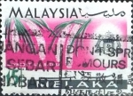 Stamps : Asia : Malaysia :  Intercambio 0,30 usd  15 cent. 1965