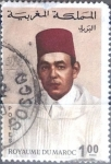 Stamps : Africa : Morocco :  Intercambio 0,30 usd  1 d. 1968