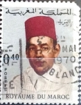 Stamps : Africa : Morocco :  Intercambio 0,20 usd  40 cent.  1968