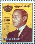 Sellos de Africa - Marruecos -  Intercambio 0,20 usd  3 d. 1983