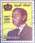 Sellos de Africa - Marruecos -  Intercambio 0,50 usd  4 d. 1984