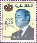 Stamps : Africa : Morocco :  Intercambio 0,20 usd  40 cent. 1981