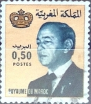 Stamps : Africa : Morocco :  Intercambio 0,20 usd  50 cent. 1981