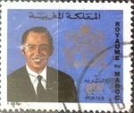 Stamps : Africa : Morocco :  Intercambio 0,20 usd  50 cent. 1973