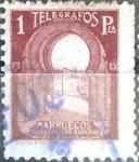 Stamps Spain -  Intercambio cxrf 0,20 usd  1 p. 1938