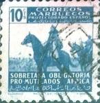 Sellos de Europa - España -  Intercambio jxi 0,20 usd  10 cent. 1943