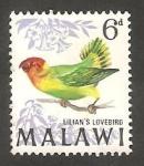 Sellos de Africa - Malawi -  96 - Pájaro