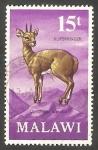 Sellos de Africa - Malawi -  153 - Antílope