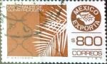 Sellos del Mundo : America : México : Intercambio 1,25 usd 800 p. 1987
