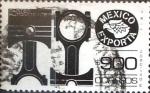 Stamps Mexico -  Intercambio 2,10 usd 900 p. 1987