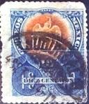 Stamps : America : Mexico :  Intercambio 0,35 usd 10 cent. 1903