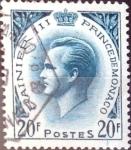 Stamps : Europe : Monaco :  Intercambio crxf 0,50 usd 20 f. 1957