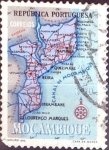 Sellos del Mundo : Africa : Mozambique : Intercambio 0,20 usd 50 cent. 1954