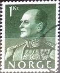 Stamps Norway -  Intercambio 0,20 usd 1 k. 1959