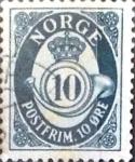 Sellos de Europa - Noruega -  Intercambio maxs 0,20 usd 10 o. 1950