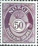 Sellos del Mundo : Europa : Noruega : Intercambio 0,20 usd 50 o. 1978