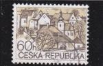 Sellos de Europa - República Checa -  CIUDAD