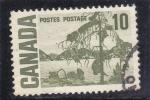 Stamps : America : Canada :  PAISAJE DE UN LAGO