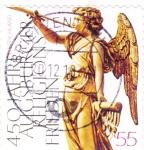 Stamps Germany -  FIGURA ALADA