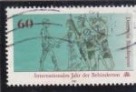 Stamps Germany -  AÑO INTERNACIONAL