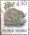Sellos de Europa - Noruega -  Intercambio 0,20 usd 4,50 k. 1990