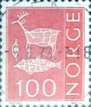 Sellos de Europa - Noruega -  Intercambio 0,20 usd 100 o. 1973