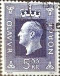 Sellos de Europa - Noruega -  Intercambio 0,20 usd 5 k. 1970
