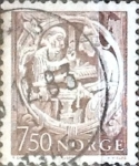 Sellos de Europa - Noruega -  Intercambio 0,20 usd 7,50 k. 1976