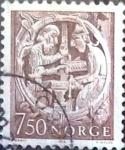 Sellos del Mundo : Europa : Noruega : Intercambio 0,20 usd 7,50 k. 1976
