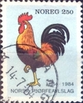 Stamps Norway -  Intercambio 0,20 usd 2,50 k. 1984