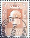 Sellos de Europa - Noruega -  Intercambio 0,20 usd 10 k. 1970